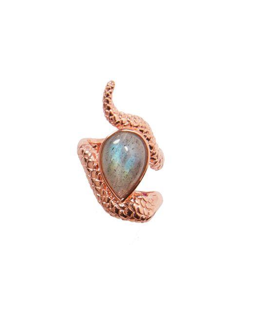 Alexandra Alberta - Multicolor Arizona Labradorite Ring - Lyst