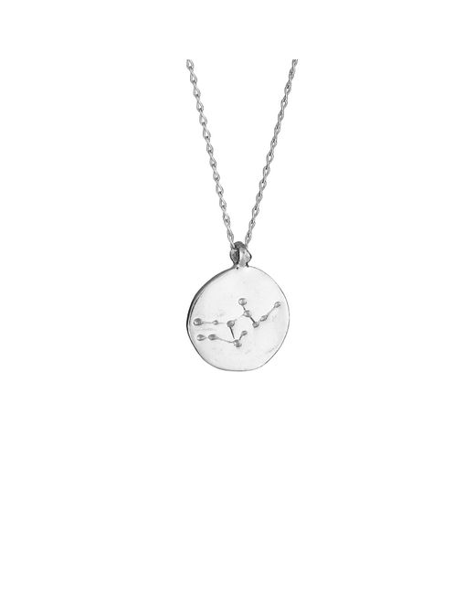 Chupi | Metallic Virgo We Are All Made Of Stars Star Sign Necklace In Silver | Lyst