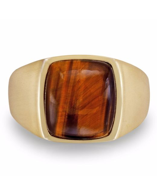 LMJ | Multicolor Chatoyant Yellow Tiger Eye Ring | Lyst