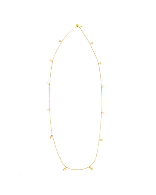Chupi - Metallic 13 Leaves In The Forest Necklace Gold - Lyst