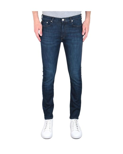 PS by Paul Smith Slim Fit Blue Wash Denim Jeans for men