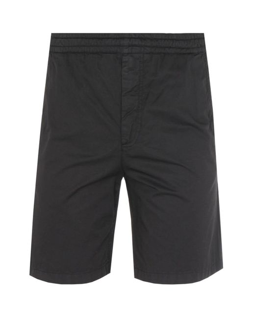 Norse Projects Evald Relaxed Fit Black Work Short for men