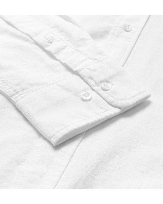 Lyst Gant Rugger White Organic Cotton Button Down Shirt