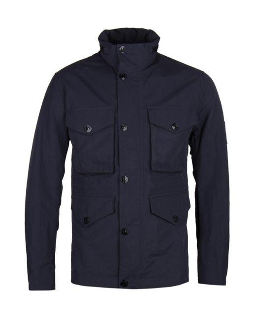 Peak Performance Blue Hunt Navy Field Jacket for men