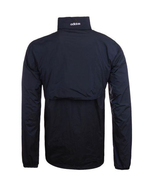 lyst adidas originals eqt 1 to 1 navy pullover hooded. Black Bedroom Furniture Sets. Home Design Ideas