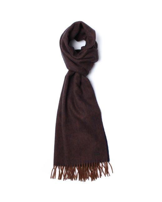 BOSS - Multicolor Heroso Melange Reversible Woollen Scarf for Men - Lyst
