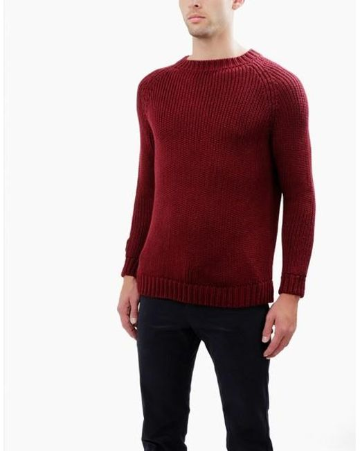Wool And The Gang | Red Stevie Sweater for Men | Lyst
