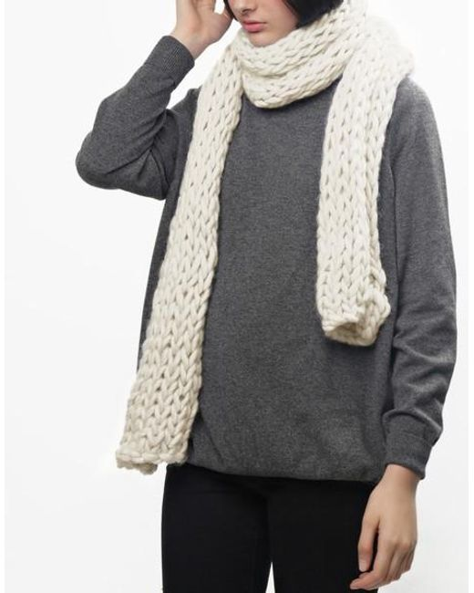 Wool And The Gang | White Yummy Scarf | Lyst