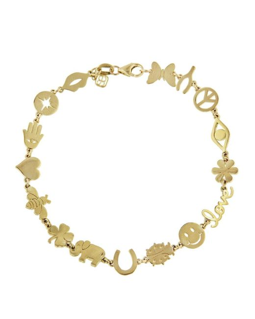 Sydney Evan - Metallic Multi-icon Pure Bracelet - Lyst