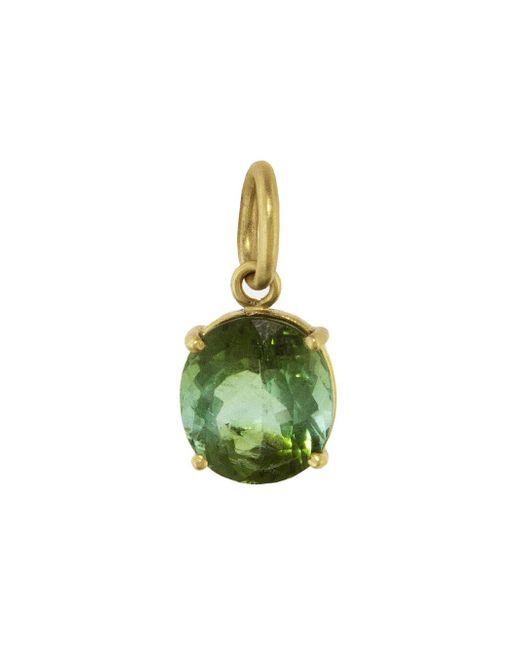 Irene Neuwirth - One-of-a-kind Green Tourmaline Oval Charm - Lyst