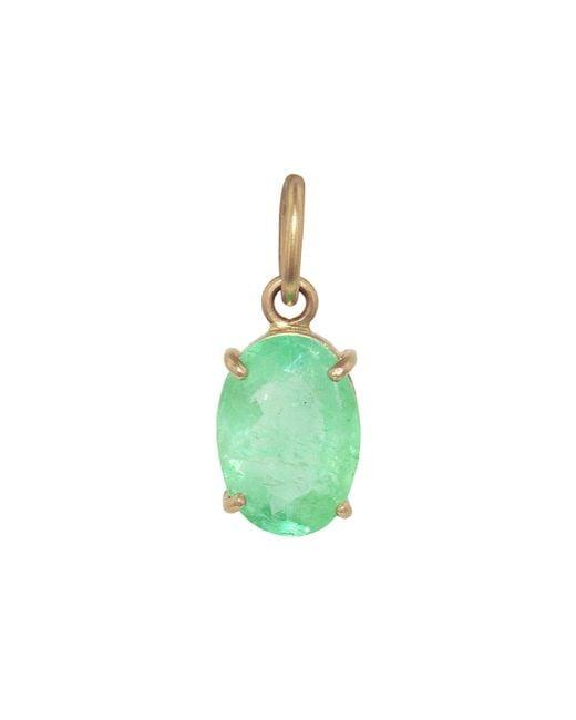 Irene Neuwirth Green One-of-kind 2.62 Carat Emerald Oval Charm
