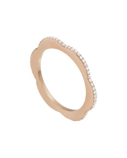 Raphaele Canot - Metallic Diamond Happy Deco Ring - Lyst