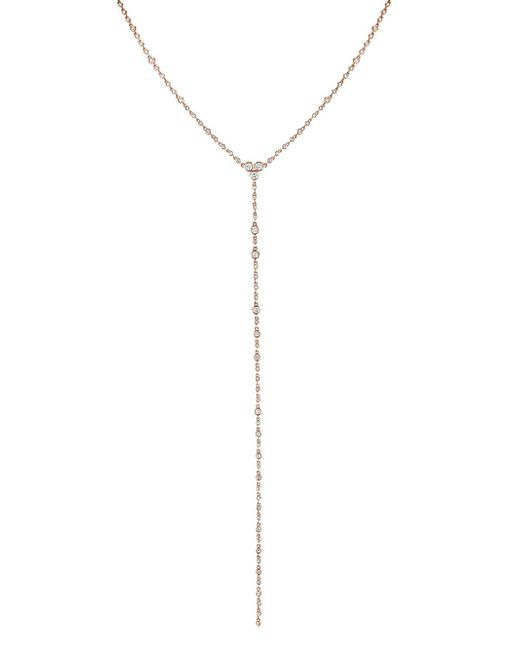 SHAY - Metallic Diamond Infinity Station Y Necklace - Lyst