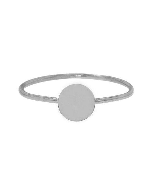 Jennifer Meyer - Metallic Circle Stacking Ring - Lyst