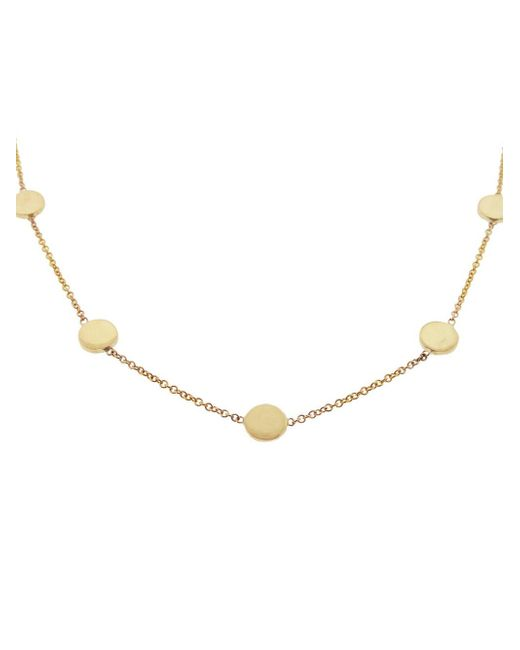 Jennifer Meyer - Metallic 16 Inch Circle Necklace - Lyst