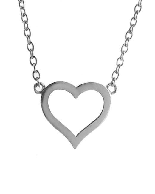 Jennifer Meyer - Multicolor Open Heart Necklace - Lyst