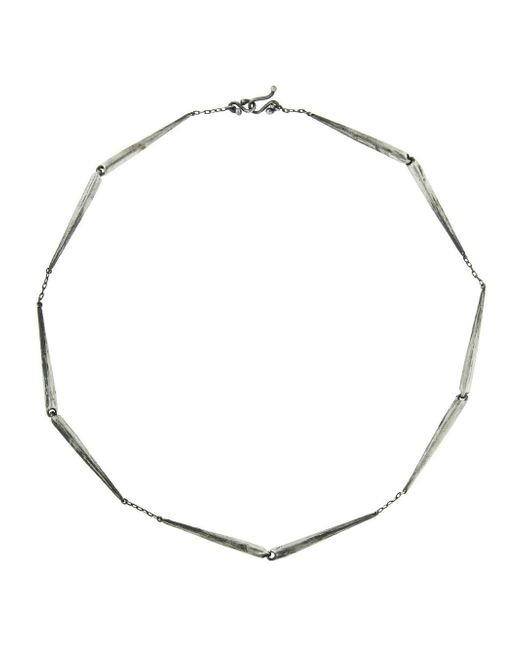 Ten Thousand Things - Metallic Long Heavy Taper Link Choker Necklace - Lyst