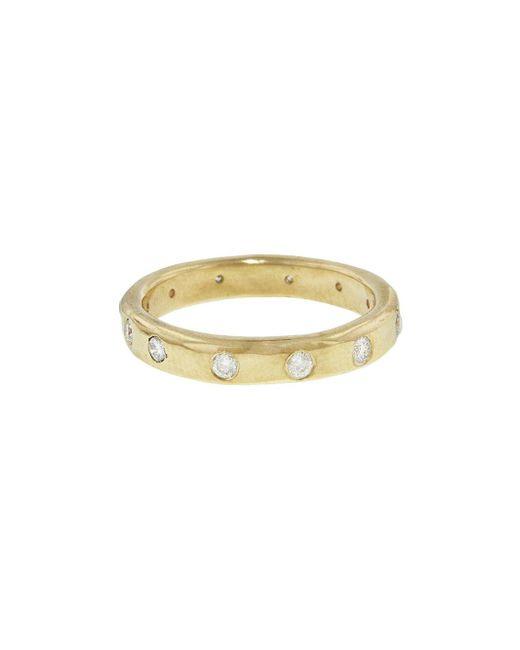 Melissa Joy Manning - Metallic Diamond 12 Stone Ring - Lyst