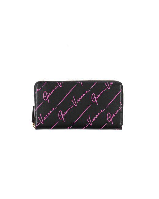 Portefeuille Versace en coloris Black
