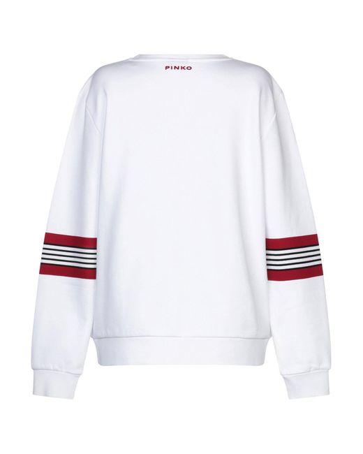 Sweat-shirt Pinko en coloris White