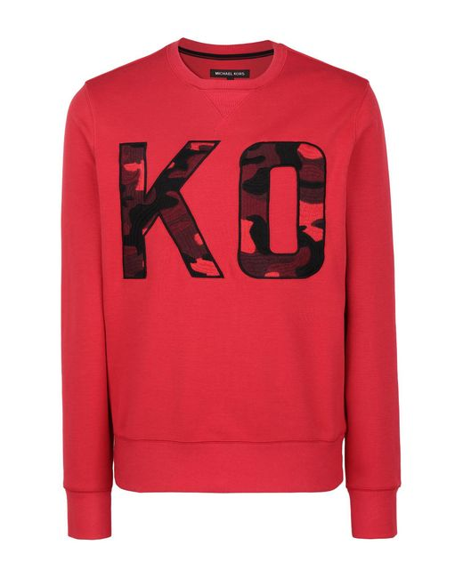 Michael Kors Red Sweatshirt for men