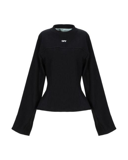 Off-White c/o Virgil Abloh Black Sweatshirt