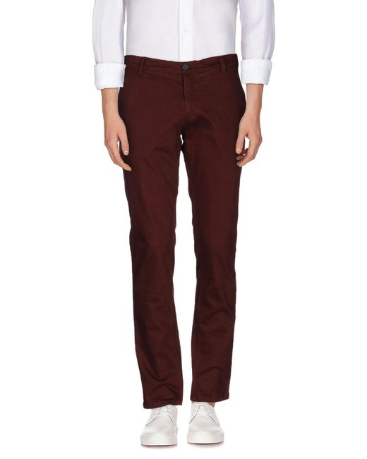 Antony Morato - Red Casual Pants for Men - Lyst