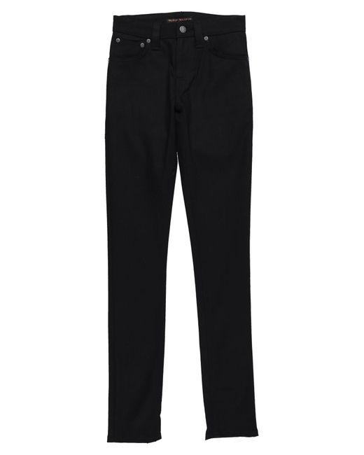 Pantaloni jeans di Nudie Jeans in Black