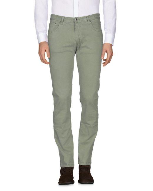 Pantalon Paolo Pecora pour homme en coloris Green