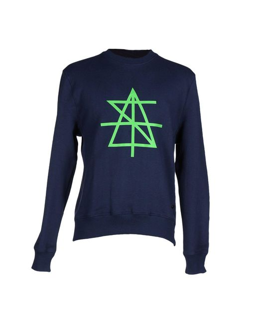 Surface To Air - Blue Sweatshirt for Men - Lyst