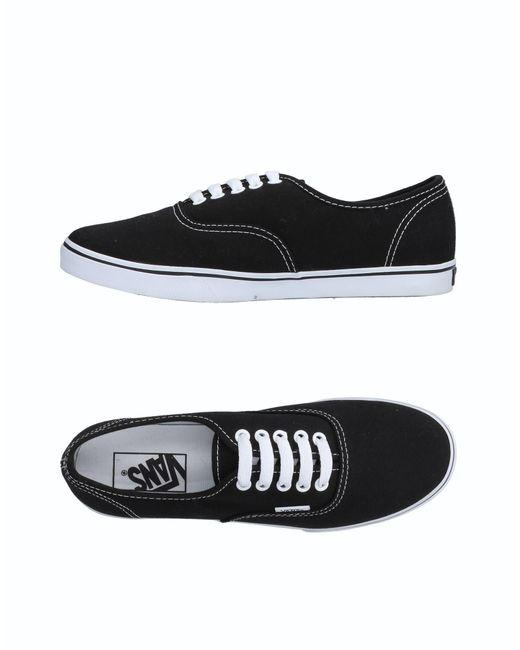 Sneakers & Tennis basses Vans en coloris Black