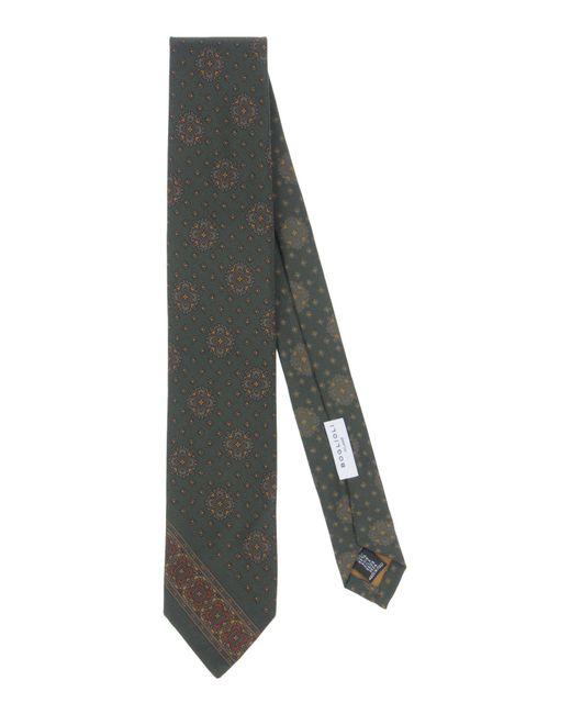 Boglioli - Green Tie for Men - Lyst