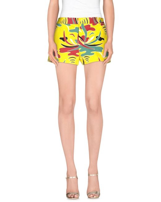Marni - Yellow Shorts - Lyst