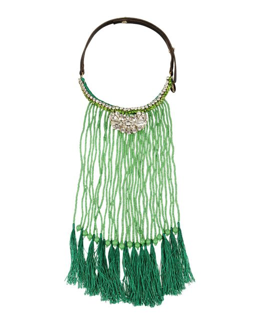P.A.R.O.S.H. | Green Necklace | Lyst