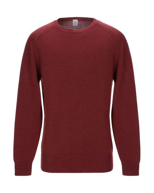 Pullover Eleventy pour homme en coloris Red