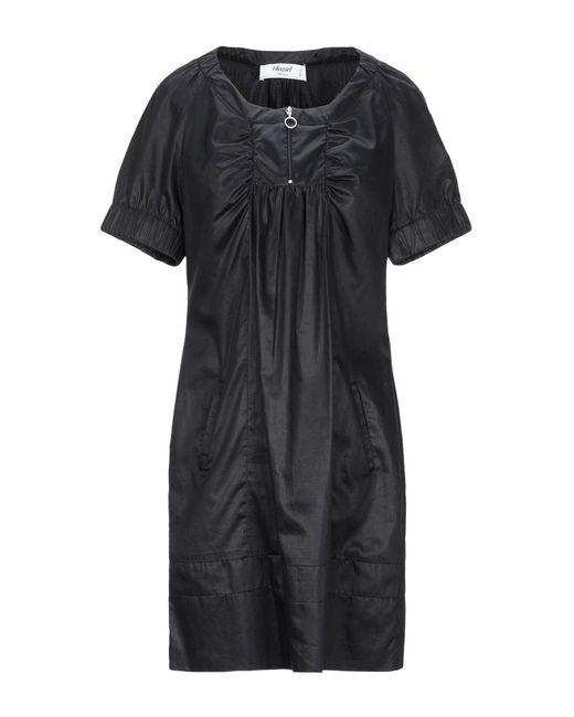 Robe courte Blugirl Blumarine en coloris Black
