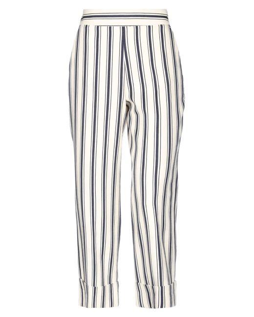 Via Masini 80 Pantalones de mujer de color blanco