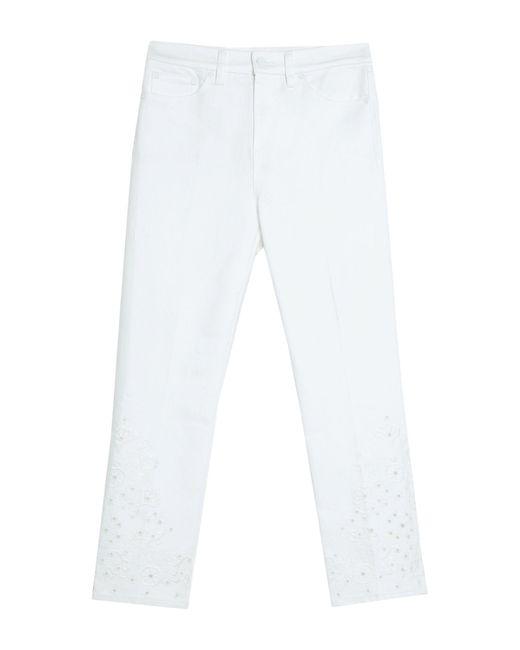 Pantalones vaqueros Tory Burch de color White
