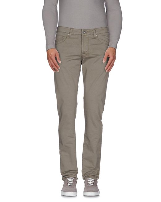 Pt05 - Gray Casual Trouser for Men - Lyst