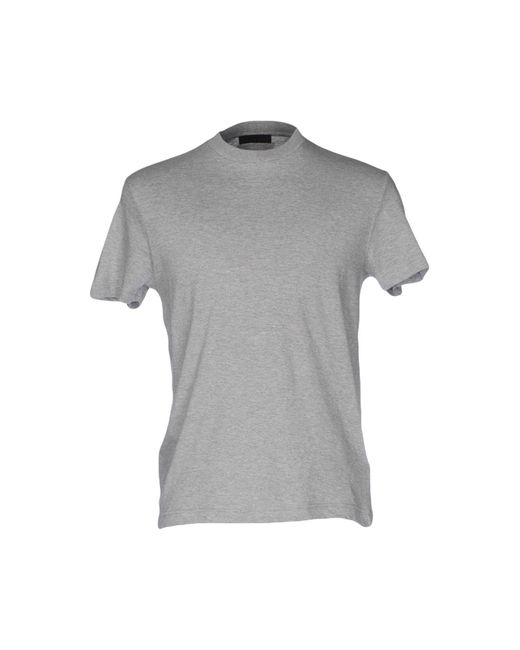 Camiseta Prada de hombre de color Gray