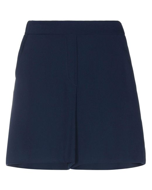 P.A.R.O.S.H. Blue Bermuda Shorts