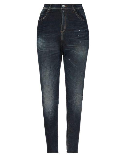 Pantaloni jeans di Novemb3r in Blue