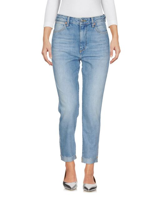 Wrangler Blue Jeanshose