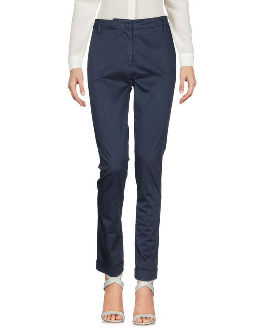 Pantalon Manila Grace en coloris Blue