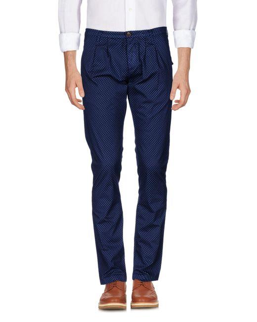 Pantalones Rrd de hombre de color Blue