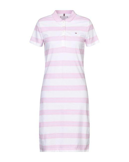 Tommy Hilfiger Pink Short Dress