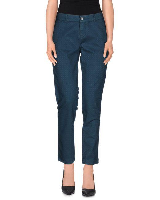 Jeckerson - Blue Casual Pants - Lyst