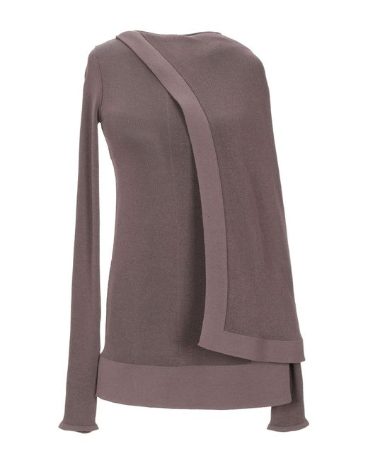 Pullover di Rick Owens in Brown
