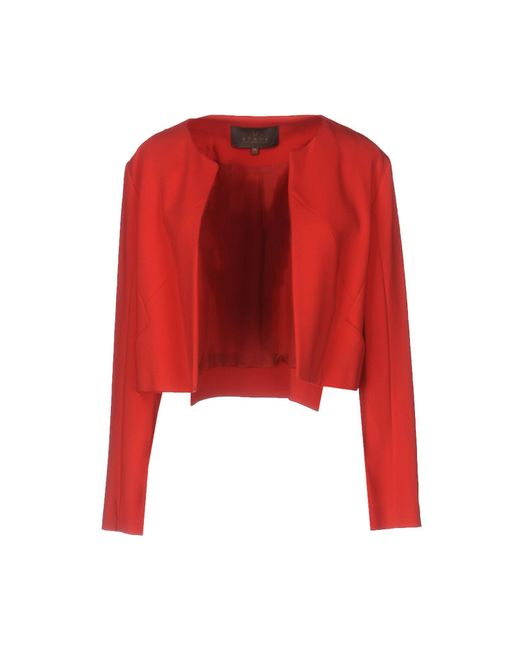 Space Style Concept Red Blazer