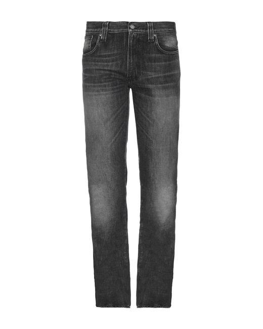Pantalon en jean Nudie Jeans pour homme en coloris Gray